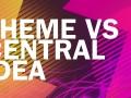 Theme VS Central Idea