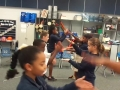 "16-17 Ms. Hamilton's 4th grade class ""Omochi"" Japanese Hand Clapping Game"