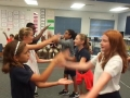 "16-17 Ms. Danley's 5th grade class ""Omochi"" Japanese Hand Clapping Game"
