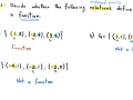 CA: 2.3 Functions (Example 1)