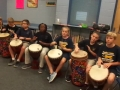 """16-17 Ms. Etts' 5th grade class playing """"Run for your life"""" by Kriske/DeLelles"""