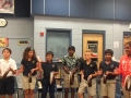"16-17 Ms. Dunn's 5th grade class ""Run for Your Life"" by Kriske/DeLelles"