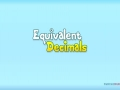 Equivalent Decimals