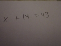 One Step Equations First Video