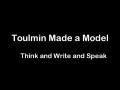 Toulmin Model of Argument Video Rap