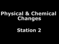 Physical and Chemical Changes Lab_Station 2