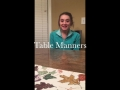 EDUC TECH - Table Manners