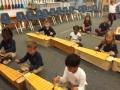 """16-17 Ms. Draizin's kindergarten class """"Five Little Leaves"""" by Lynn Kliner"""