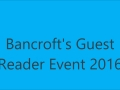 2016 Guest Reader event at Bancroft Elementary School