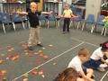 """16-17 Ms. Simon's kindergarten class """"Five Little Leaves"""" by Lynn Kleiner"""