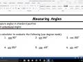 Pre-Cal Measuring Angles and Coterminal Angles