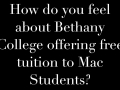 Bethany College Opinion