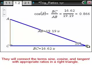 Trig Ratios [Math Nspired Preview Video]