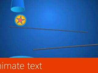 Animate text