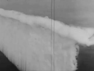 1920s Battleship Smoke Curtain