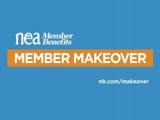 NEA Teacher Appreciation Week 2016 - Member Makeover