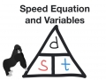 Speed Equation and Variables
