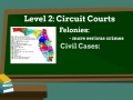 SS.7.C.3.11 and 2.6 State Courts