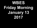 Bedford ES January 13 WBES Broadcast