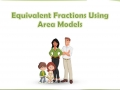 Equivalent Fractions Using Area Models