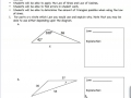 Law of Sines and Law of Cosines Review Sheet for Quiz