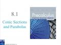 Precalculus 8.1