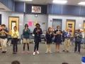 "16-17 Ms. Hamilton's 4th grade class """"Green Sally Up"" arr. by Purdum"