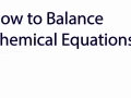 How to balance a chemical equation in 5 easy steps