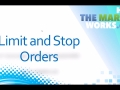 Using Limit and Stop Orders on HTMW