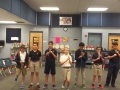 """16-17 Ms. Etts' 5th grade class playing """"The Elephant  Carris a Great Big Trunk"""" by Kriske/DeLelles"""