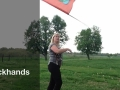 Flag Backhands - How to color guard