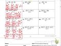 Dividing Monomials 10, 13, 16, 19