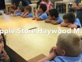 Field Trip to the Apple Store, Haywood Mall