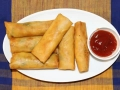 Chicken Spring Roll Recipe | Homemade Chinese Chicken and Vegetable Spring Roll