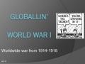 Regents Review- World War I