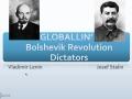 Regents Review- Russian (Bolshevik) Revolution Dictators