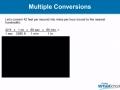 Converting  Units Using Dimensional Analysis