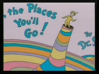 Dr. Seuss Places We'll Go