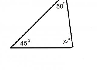 Interior Angles of a Triangle 1