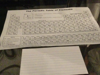 Periodic Table (Coloring Activity)