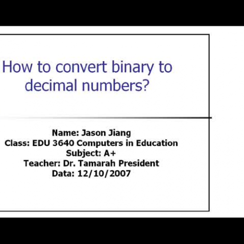 conversions from binary to hexdecimal numbering To convert the other way, break the binary number into groups of four, then  replace each one with its hex digit group the digits starting from the right if you  don't.