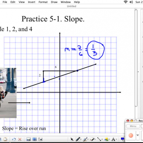 how to find slope given two points