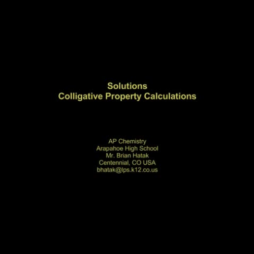 the colligative property : depending on the number of particles (such as molecules) and not on the nature of the particles pressure is a colligative property first known use of colligative 1901, in the meaning defined above.
