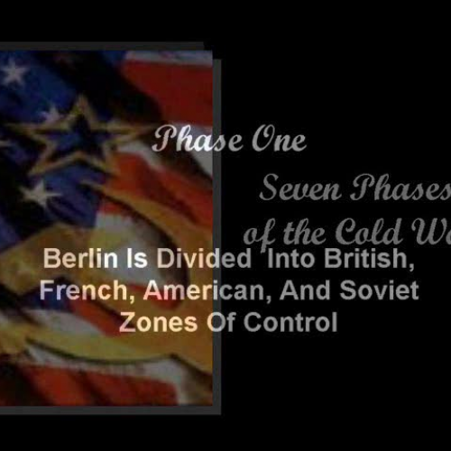 phases of the cold war How the cold war was played by zbigniew brzezinski about the author: read more by  the first is to identify the principal phases of the cold war,.