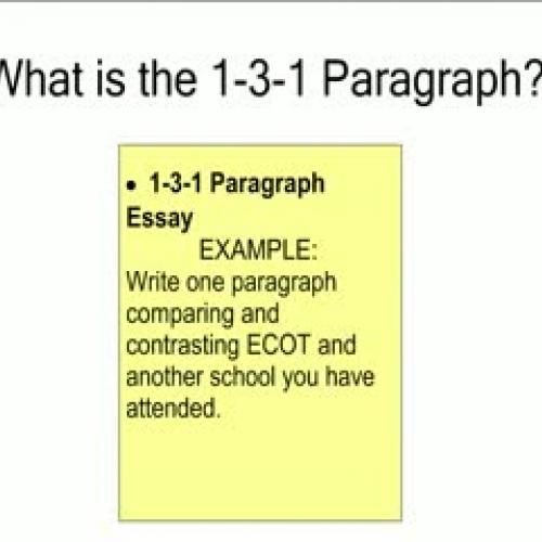 three paragraph essay outline example