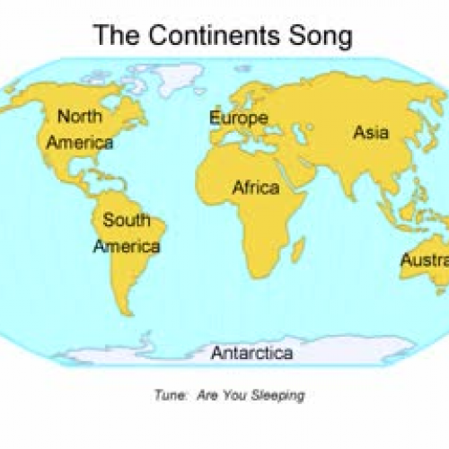 Seven Continents - Name the seven continents