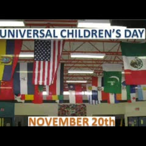 universal children day Children's day crafts are the perfect way to celebrate children's day universal children's day was started in 1954 when the un general assembly recommended that all countries establish a children's day as a way to promote the welfare of children around the world countries celebrate children's day.