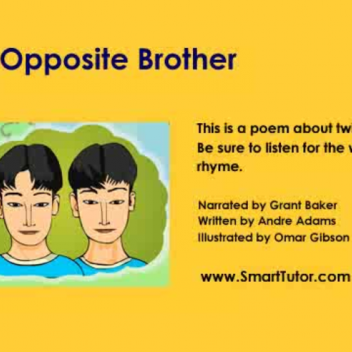 antithesis in a poem The poem explores the lives of mexican-americans and the cultural tension they have to face the poet discusses a bi-cultural person whose parents are from mexico but the person was born and raised in america and is an american citizen by law.