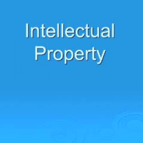 Itellectual Property: Intellectual Property & Plagiarism, Part