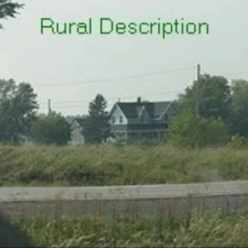 Urban And Rural Communities